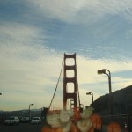 Golden Gate with orange peel