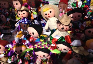 Dolls at the Art Festival