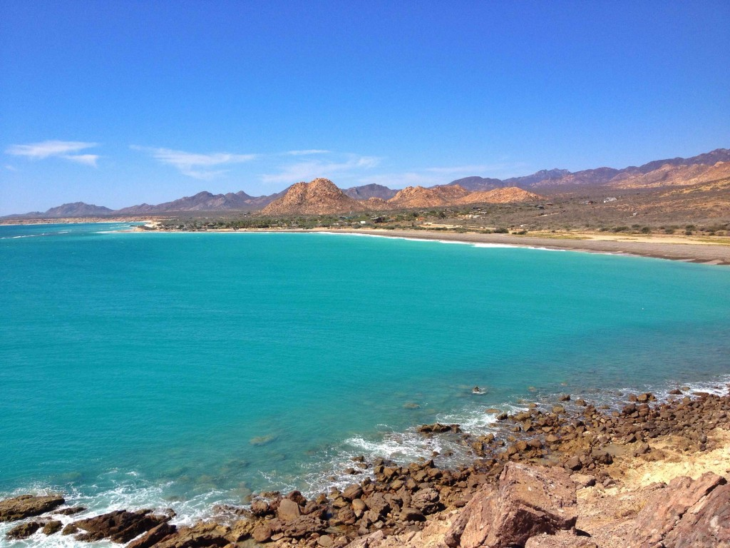 Cabo Pulmo. World famous reef just below the aqua waters.
