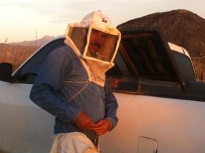 The bee man of Pescadero.