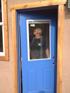 A blue door for Bobbie.