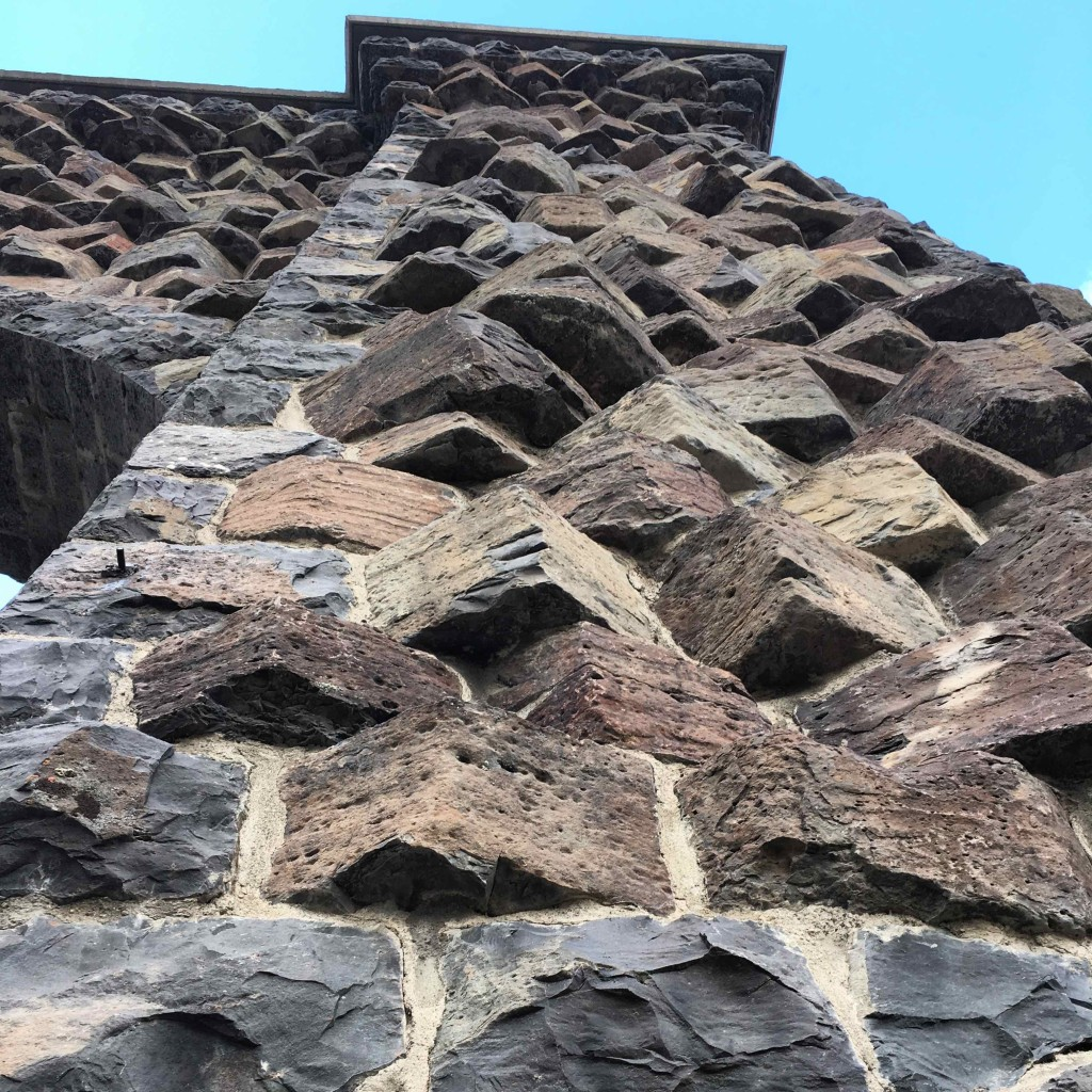Masonry at the Roosevelt Arch.