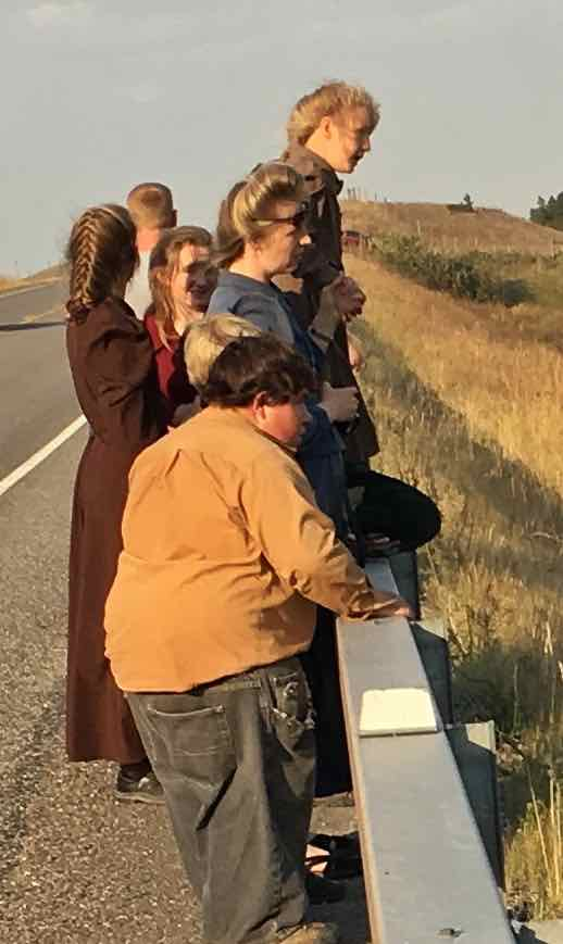Hutterites like bears, too.