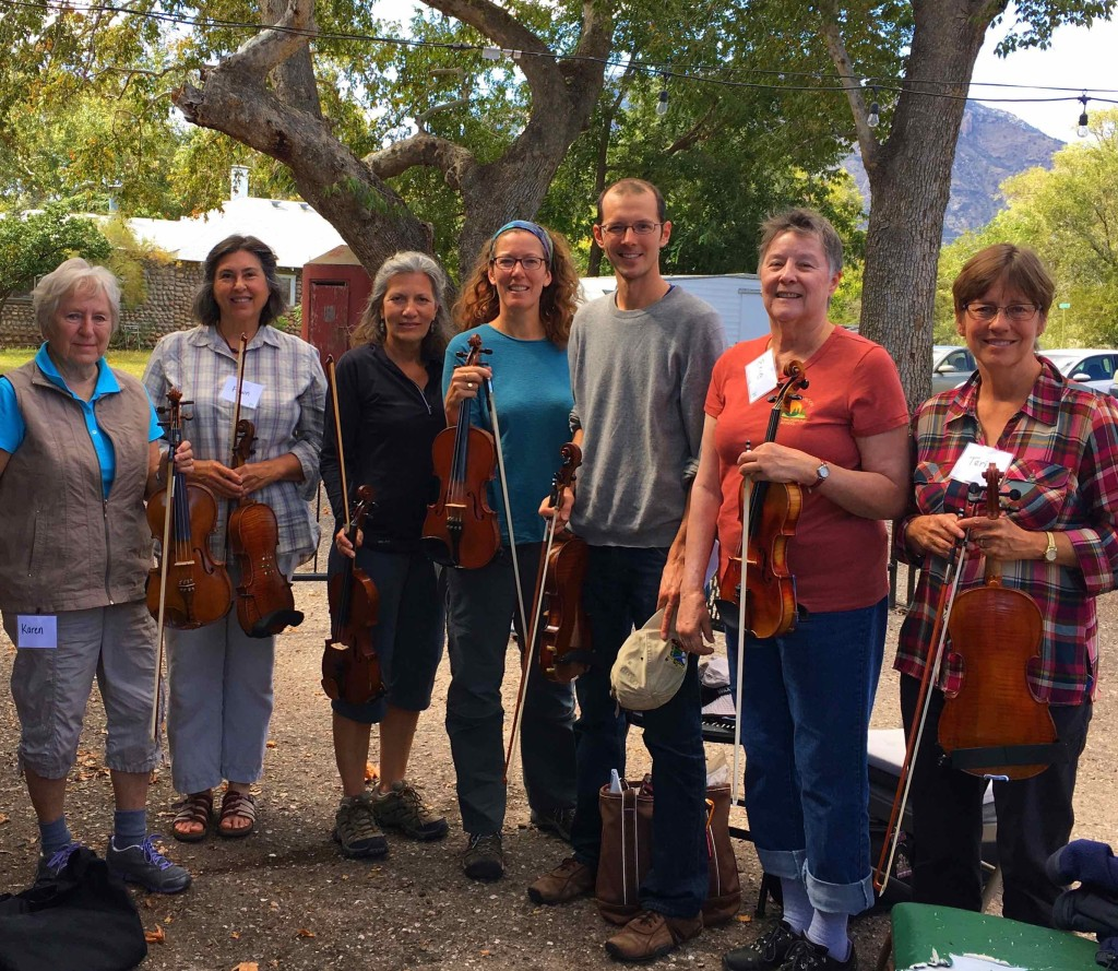 Fiddle class with Colin Lindsay.