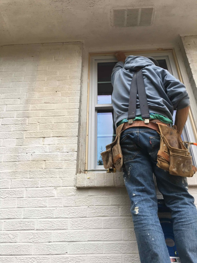 Trimming the new windows