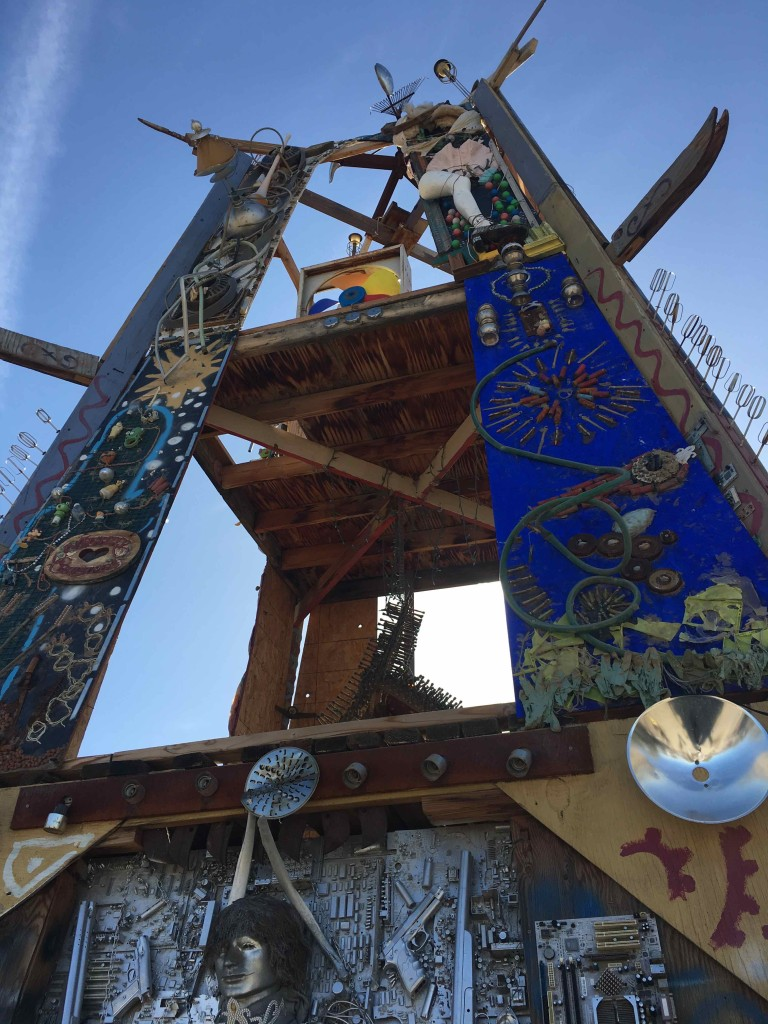 Tower at Slab City