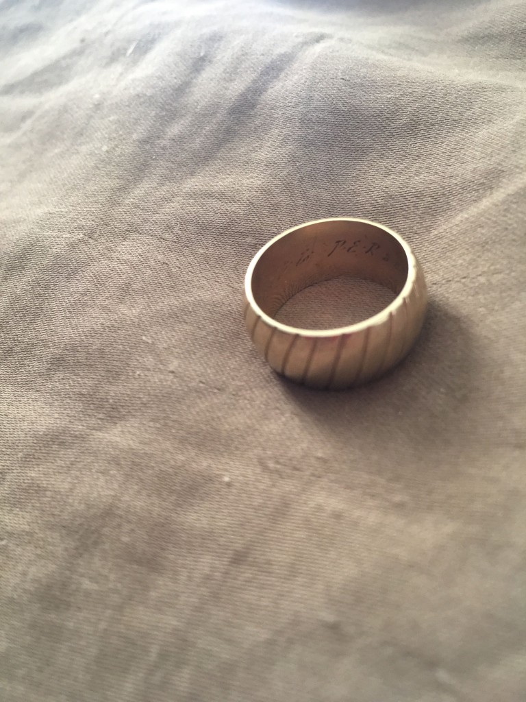 Mom's wedding ring