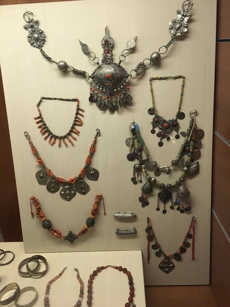 Jewelry that would be popular today.