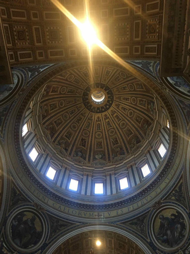 The dome of Saint Peter's.