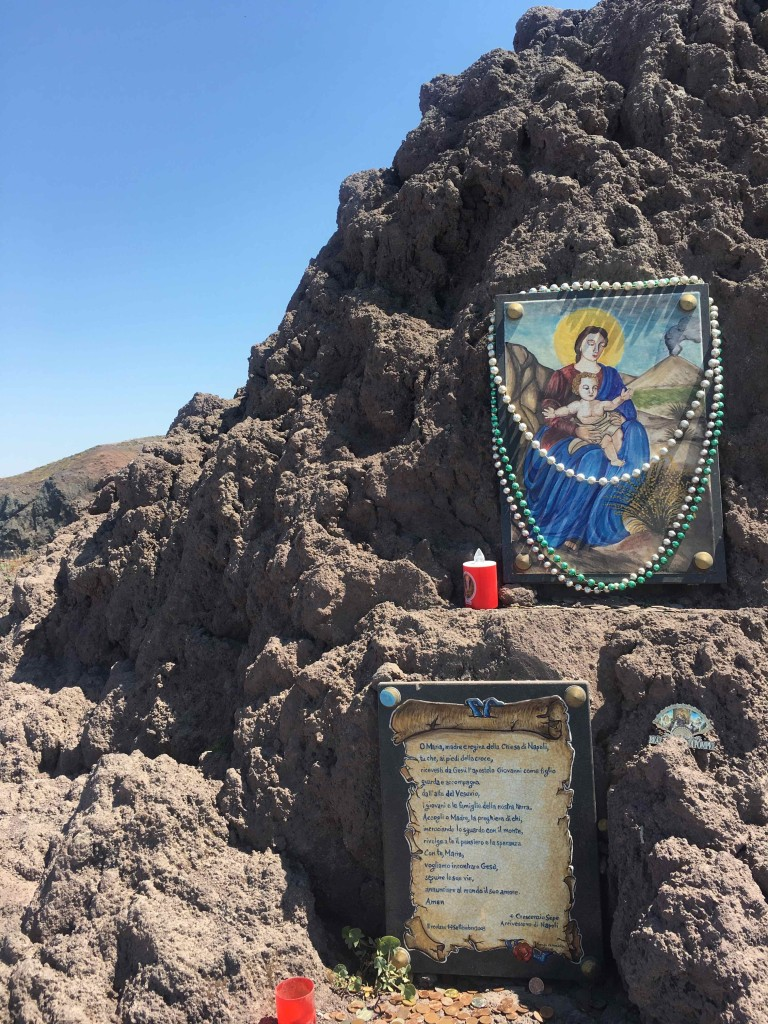 Shrine on Vesuvius.