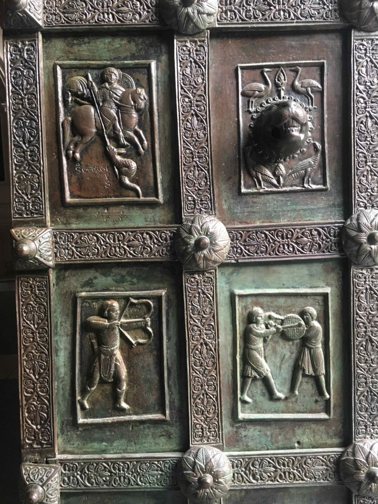 Bronze Door at Ravello Cathedral