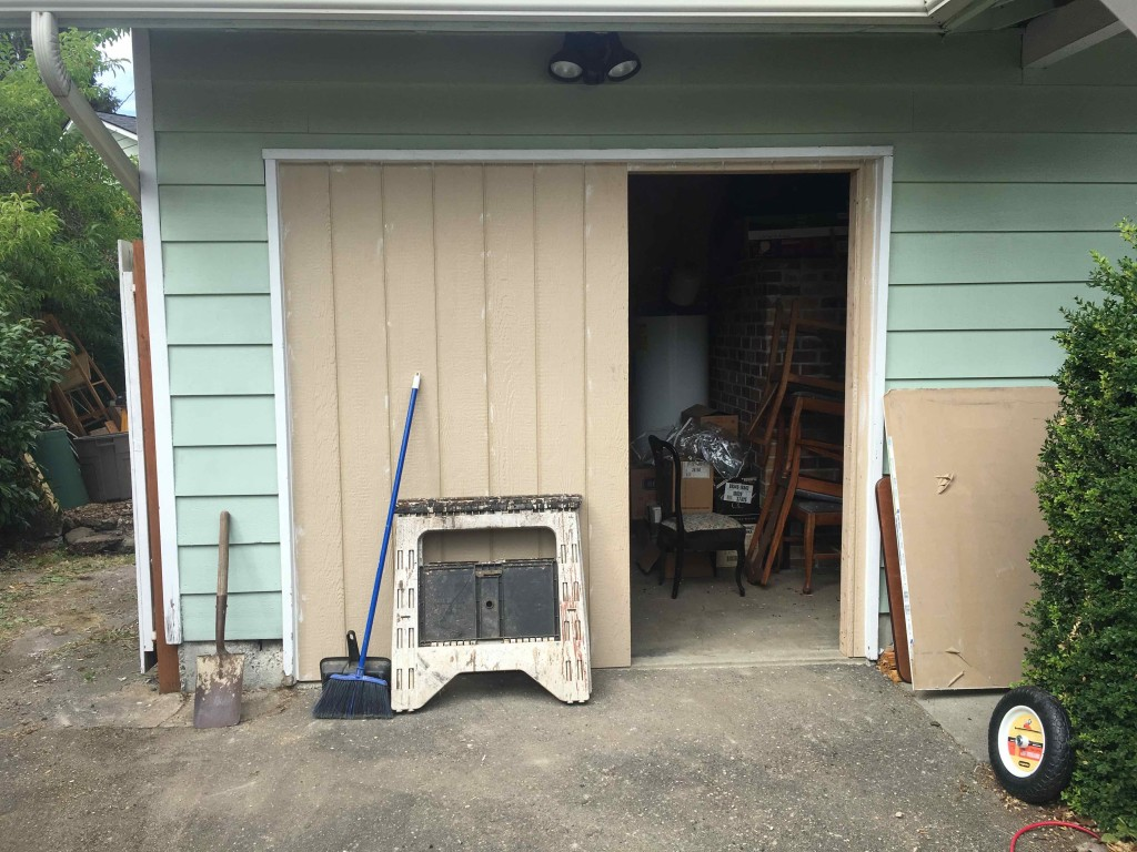 Doorway to storage