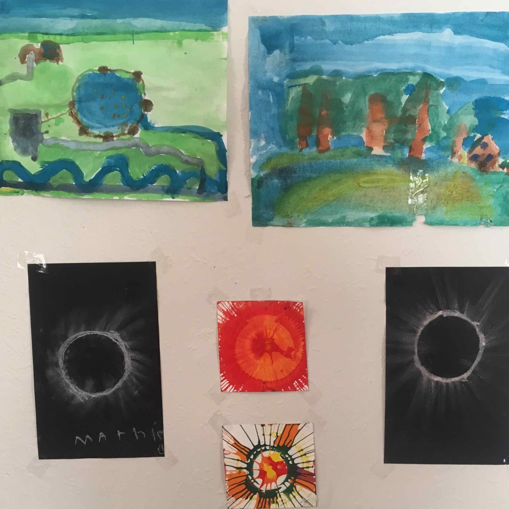 Eclipse art. Perfect cure for the eclipse hangover.