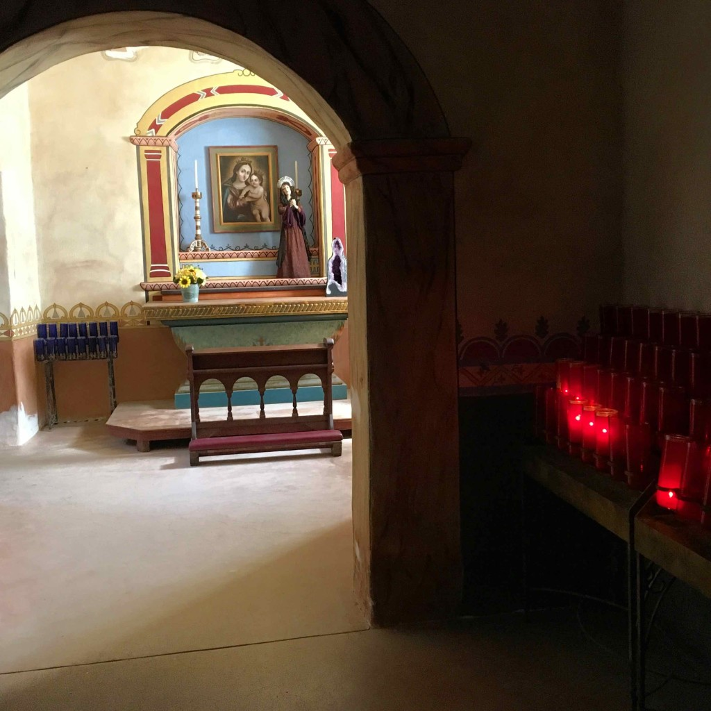 Chapel at Mission San Antonio de Padua