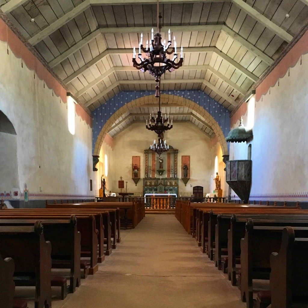 Church at Mission of San Antonio de Padua