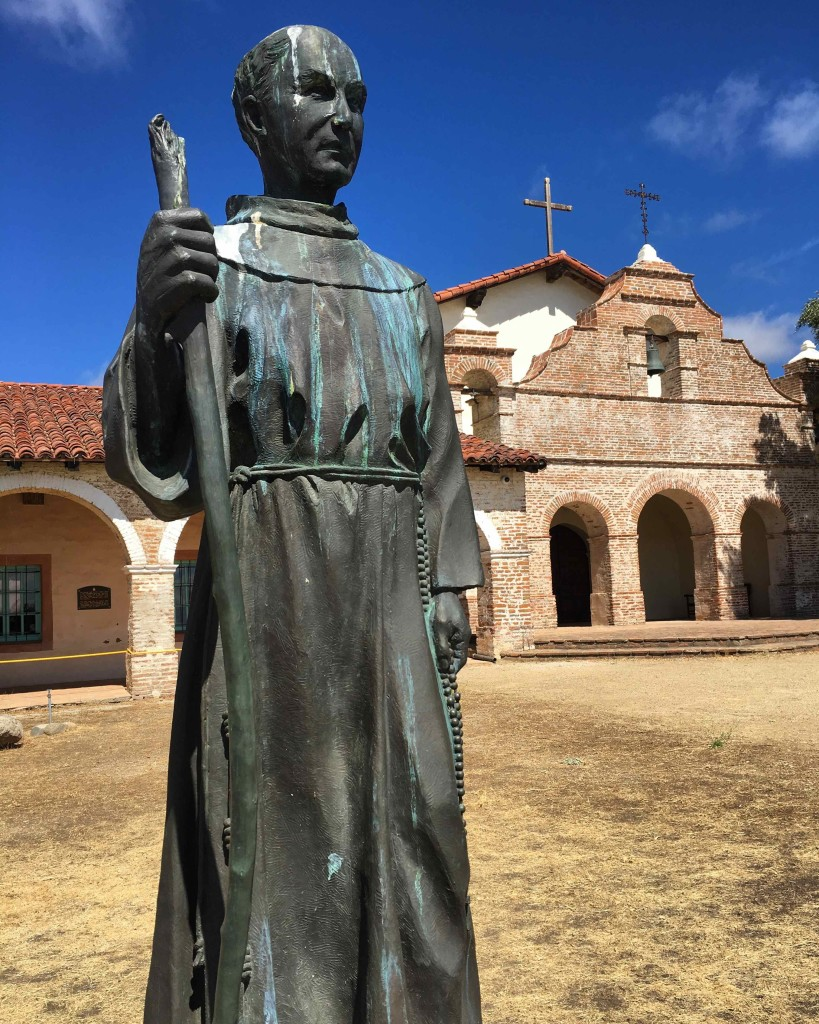Junipero Serra at Mission San Antonio de Padua