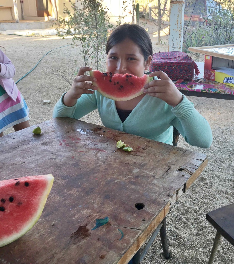 Watermelon or sandia.