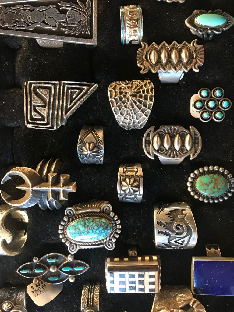 More jewelry from the Navaho Trading Post.It was hard to resist.