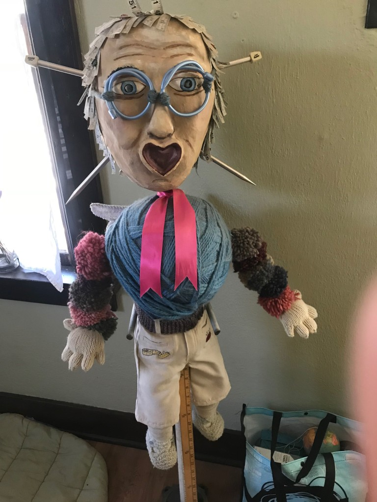 Puppet of grandmother