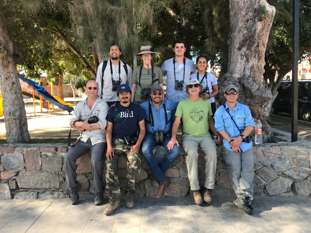 We forgot take a photo before splitting up into the field. Here are some of us that did the 2018 Todos Santos CBC.