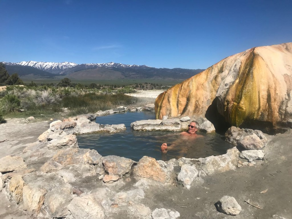 Travertine Hot Springs.